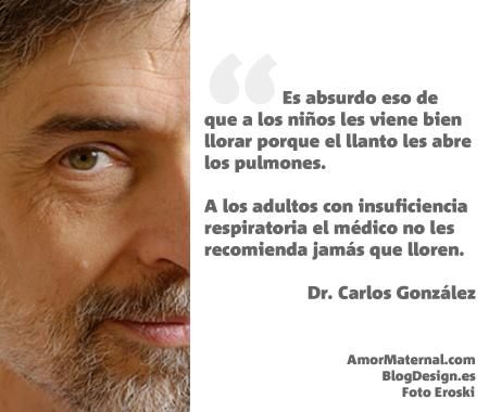 Dr. Calos González, pediatra especialista en lactancia materna, autor de Bésame Mucho, Un Regalo para Toda la Vida, Mi Niño No me Come