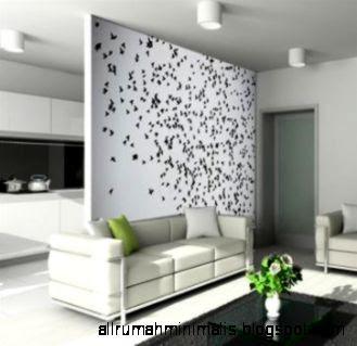 Gambar Desain Dinding Rumah Minimalis
