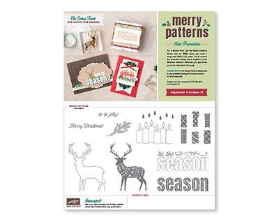 Merry Patterns Host Promo