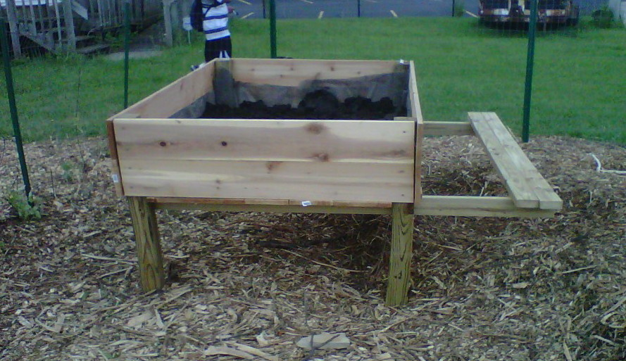 Raised Garden Beds On Legs Modern Diy Art Designs