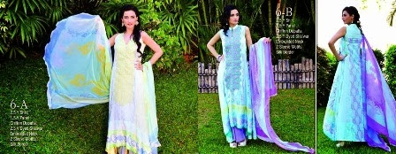 Sleeveless Lawn Shirts Collection 2014