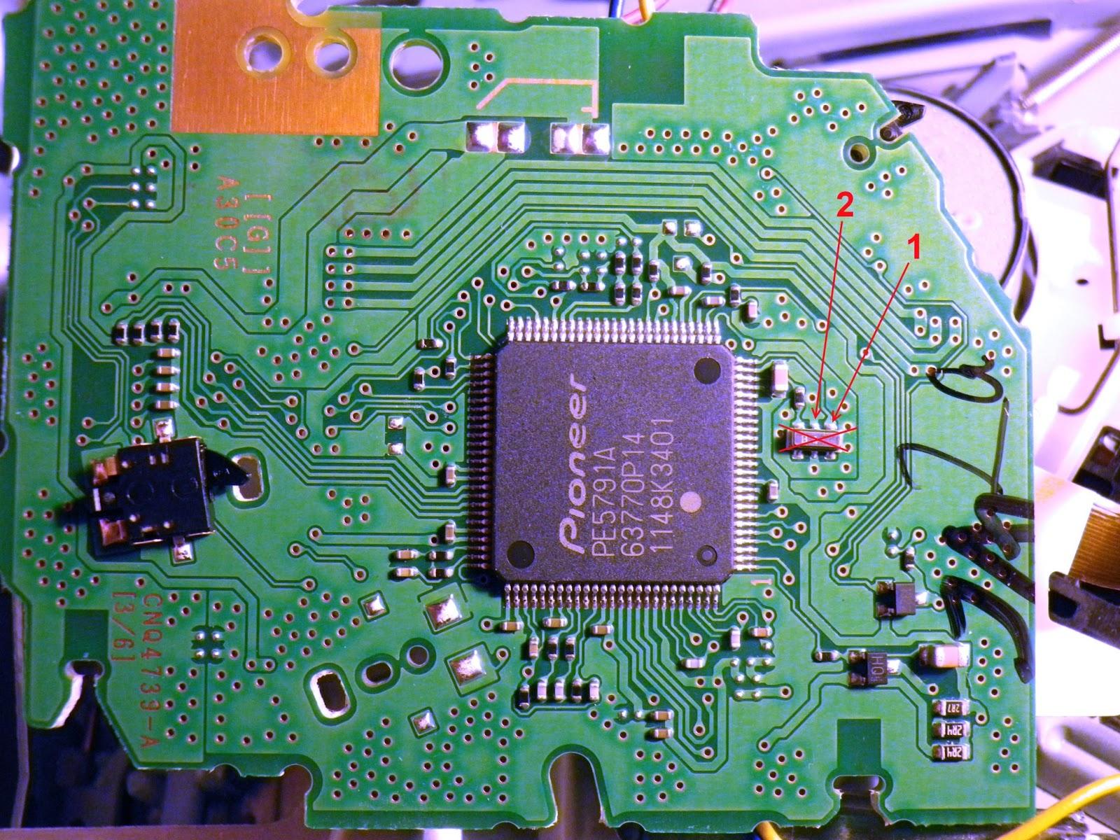 pioneer deh-2320ub схема принципиальная