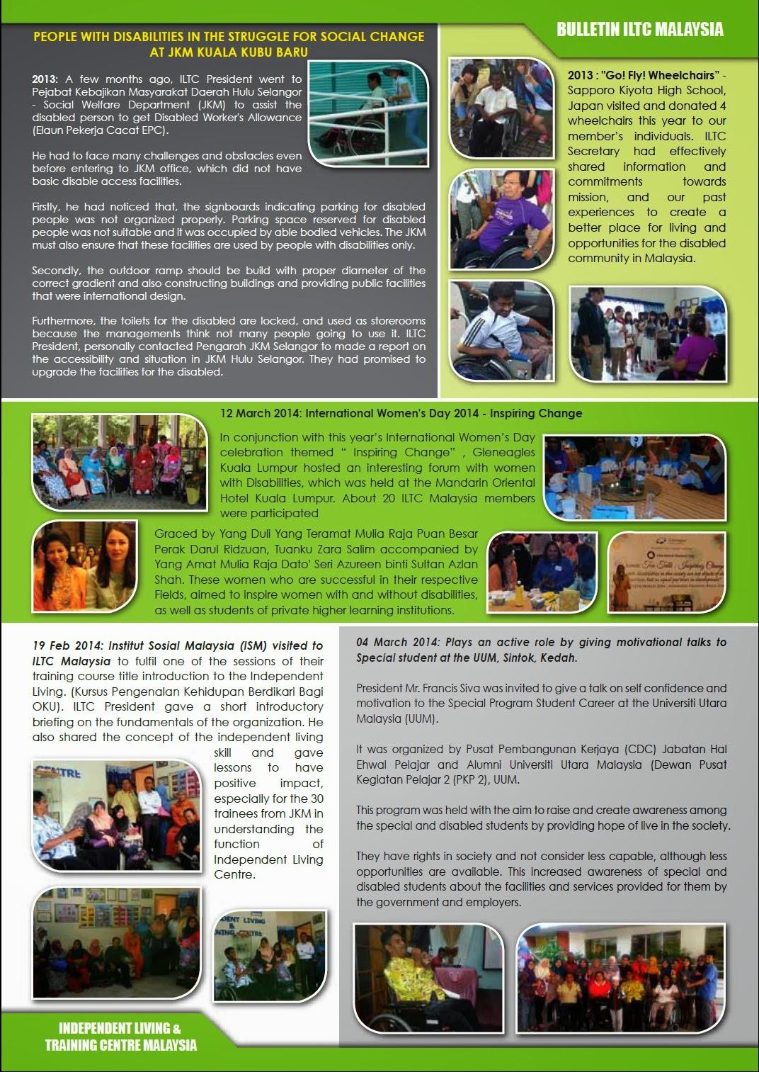 ILTC Malaysia Bulletin 2014 - Page 3