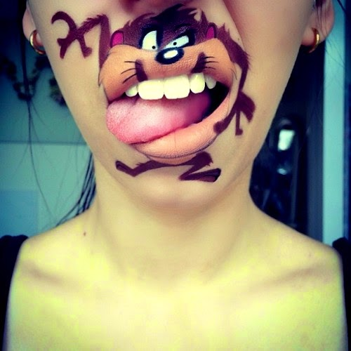 Turn Your Lips into Cartoon Characters