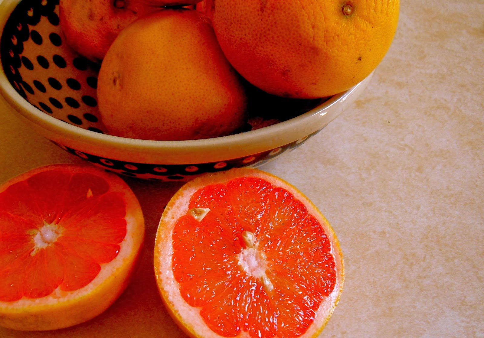 Ruby Red Grapefruit Time