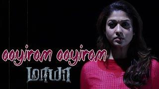Aayiram Aayiram – Maya _ Lyric Video _ Nayanthara,Aari _ Chinmayi _ Ron Yohann