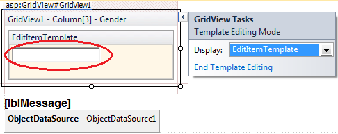 Edit template field templates in gridview