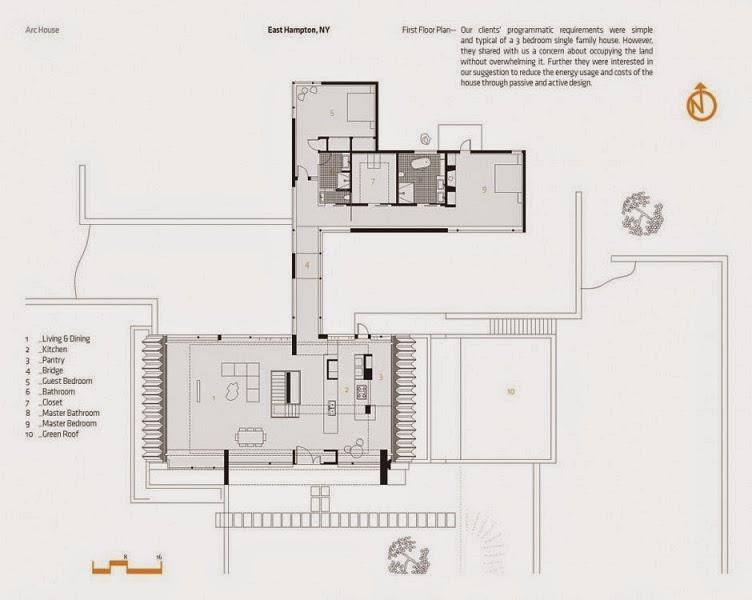Casa arco arquitectura eficiente y sostenible maziar for Arquitectura moderna planos