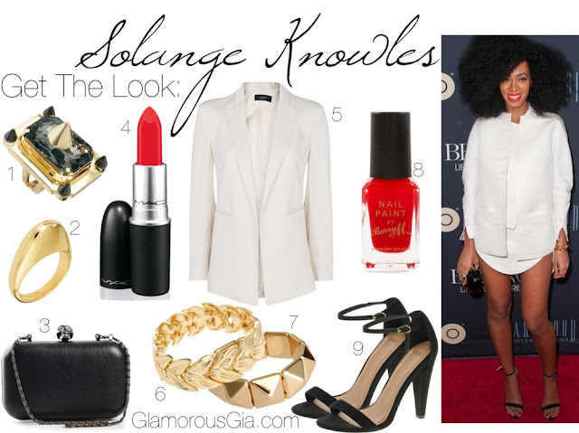 Get The Look: Solange Knowles Boyfriend Shirt