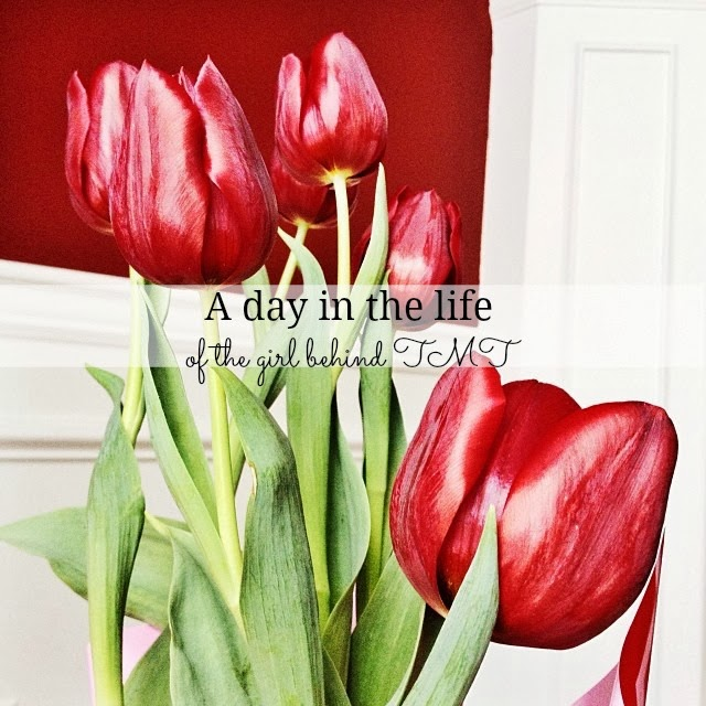 schedule, routine, tulip, flowers, blogger