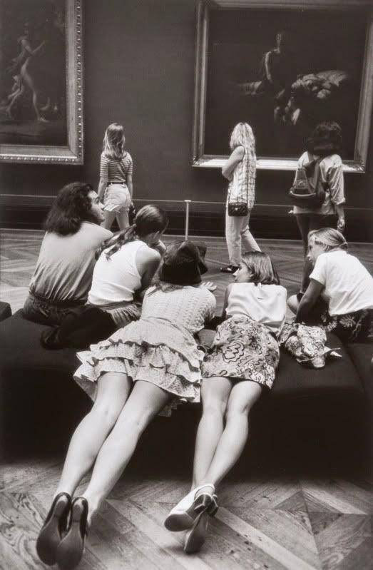 At the Louvre, Alécio de Andrade, 1993.