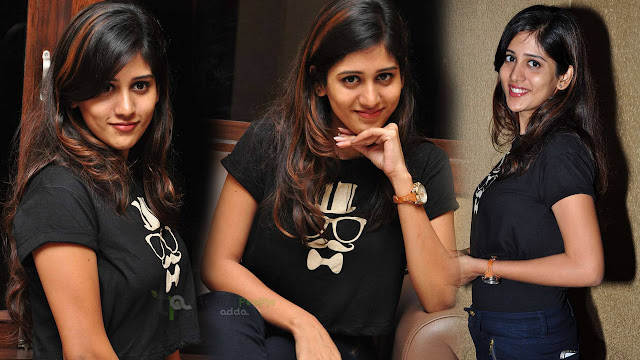Chandini Chowdary Latest Stills At Ketugadu Movie Audio Platinum Disc Function