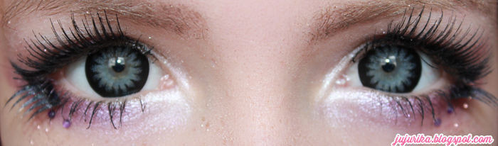 I.Fairy Snow Grey colored contacts
