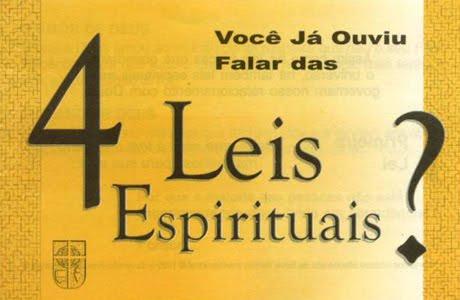 4 leis espirituais..