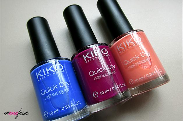 kiko quick dry nail