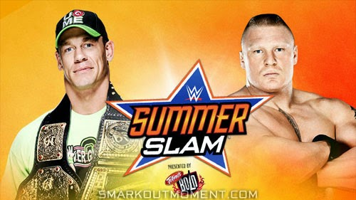 WWE SummerSlam 2014 PPV Predictions & Spoilers of Results ... Wwe John Cena World Heavyweight Champion 2014