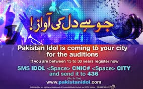 Pakistan Idol 2013, meelak.blogspot.com, Audition Online Registration Forms
