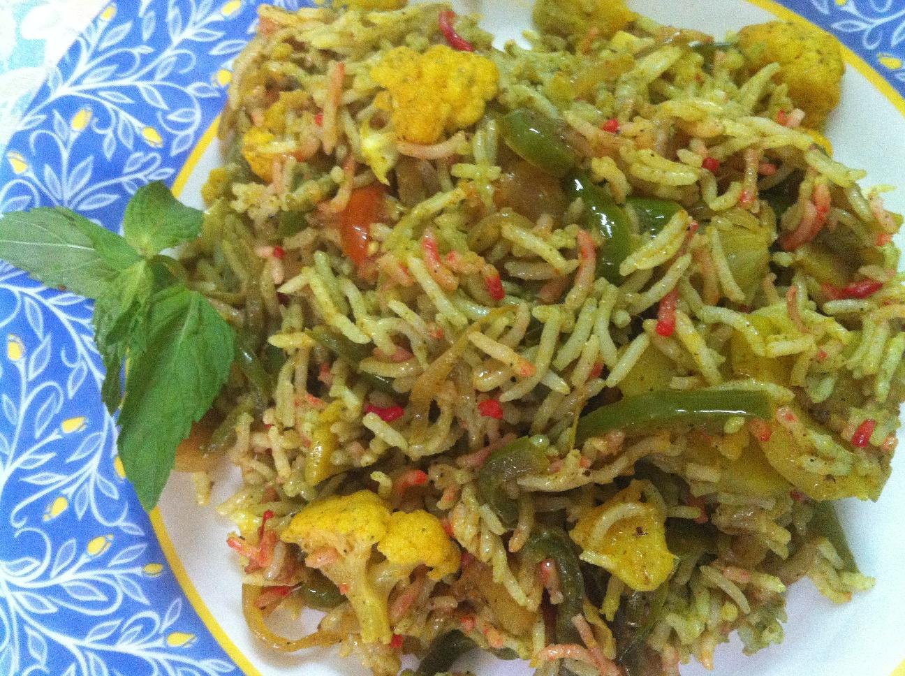 Veg Pots Recipe Veg Biryani Recipe in Hindi