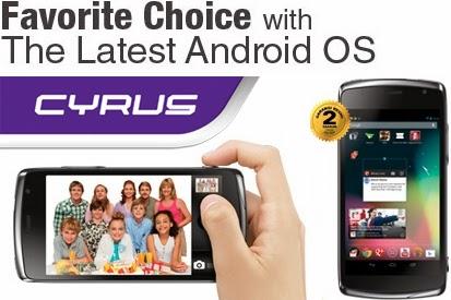Harga Hp Android Cyrus