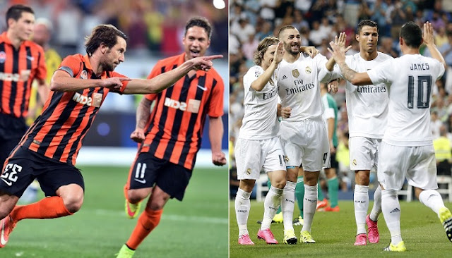 Real Madrid vs Shakhtar Donetsk en vivo
