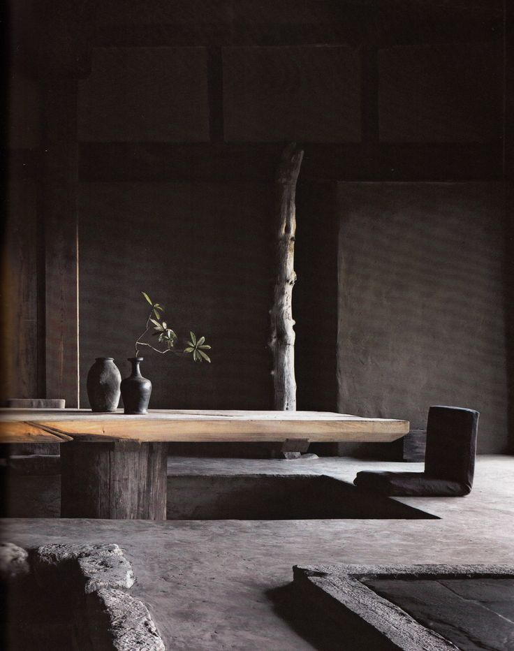 Lunch latte space axel vervoordt wabi inspirations for Decoration zen interieur