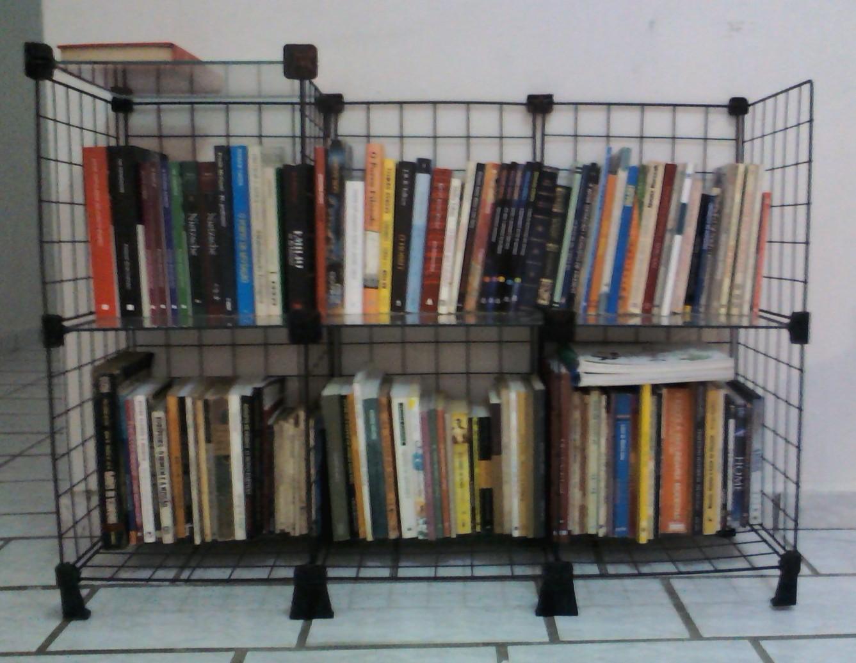 da Rúcula : Aprende se a fazer uma estante para colocar livros #364A67 1337x1034
