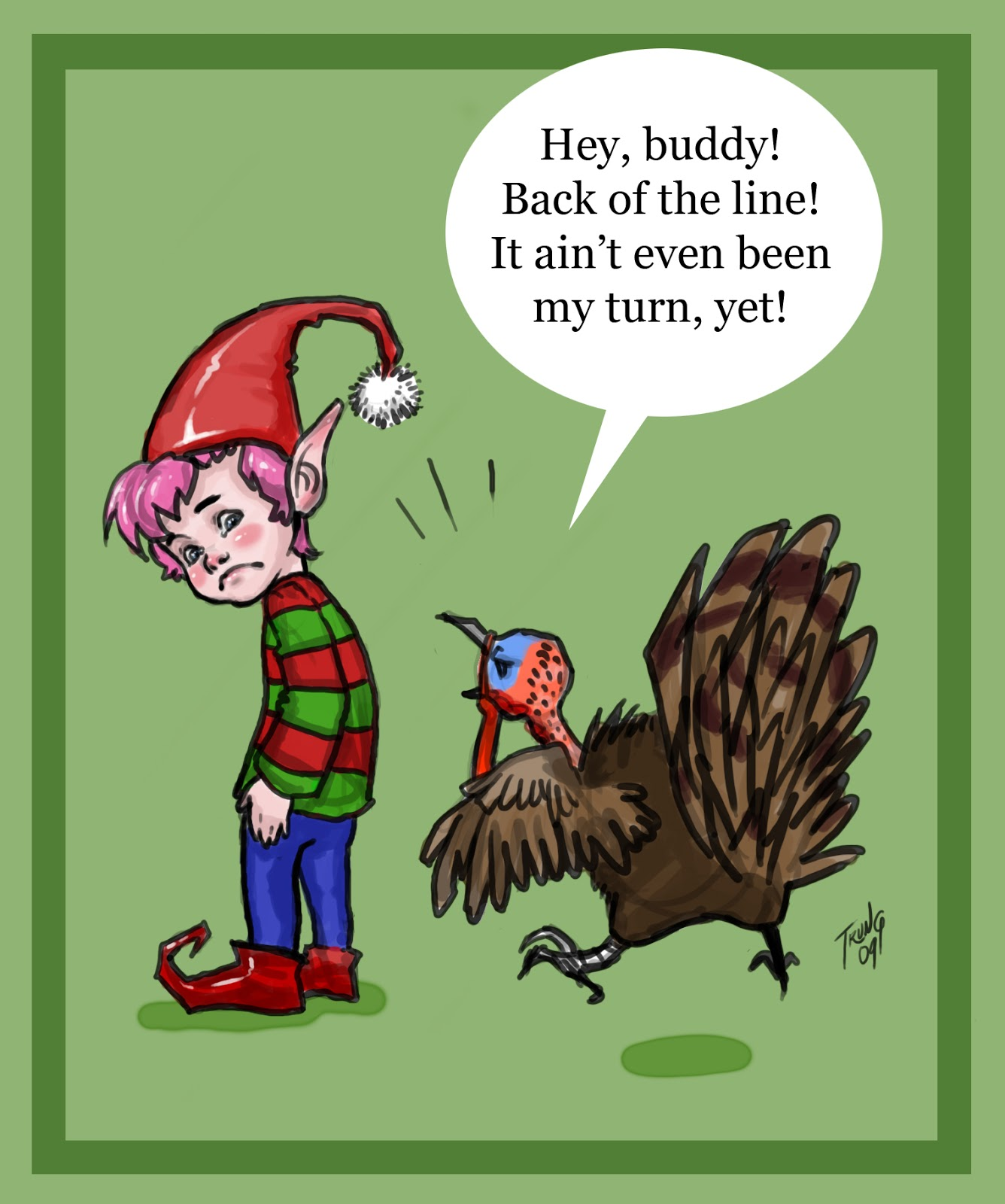 Red Vines and Red Wine: It's not Christmas YET!! Let's sing Turkey ...
