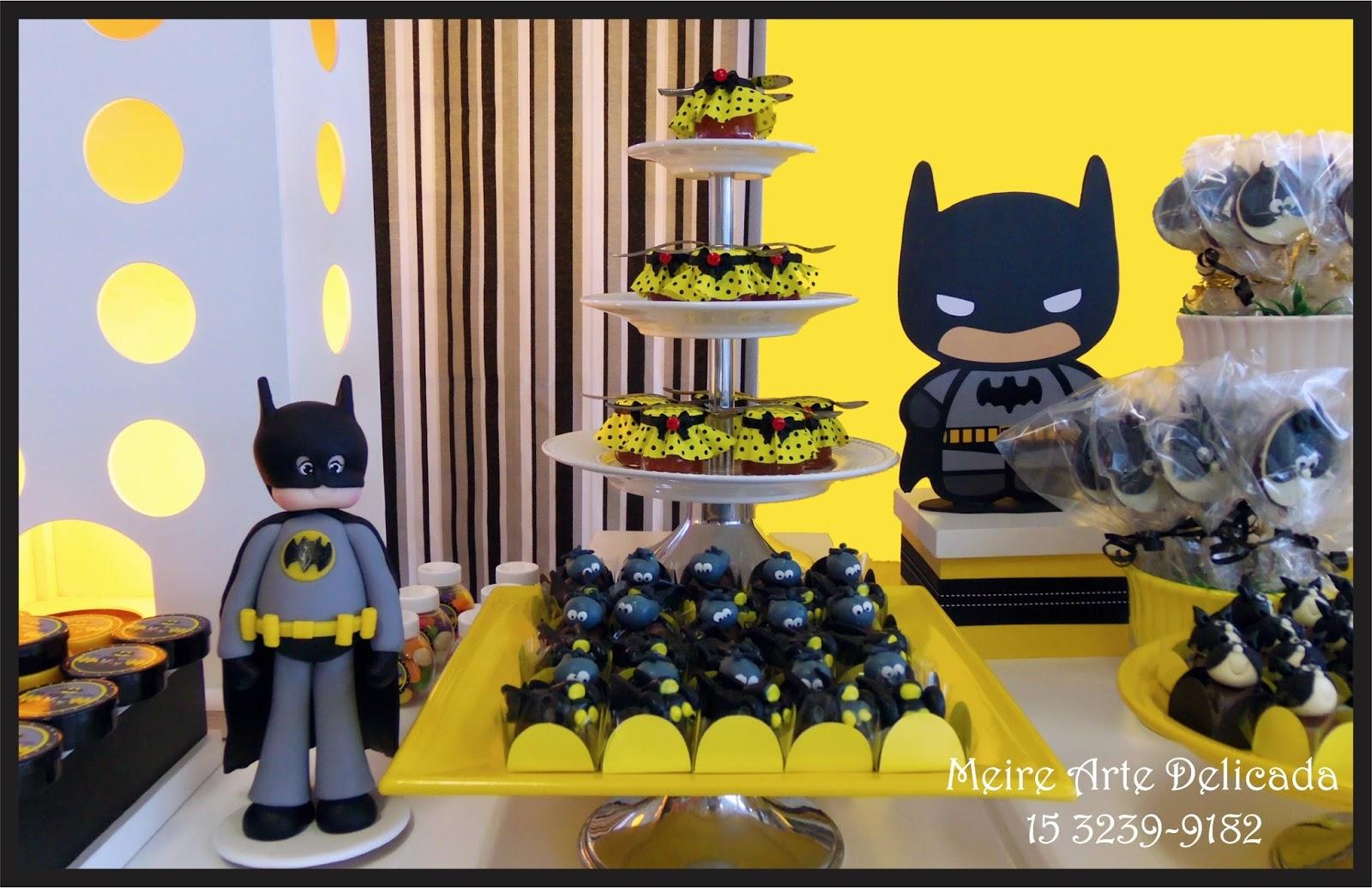 decoracao festa batman:Decoração de festa infantil do Batman Clean / Provençal em Sorocaba