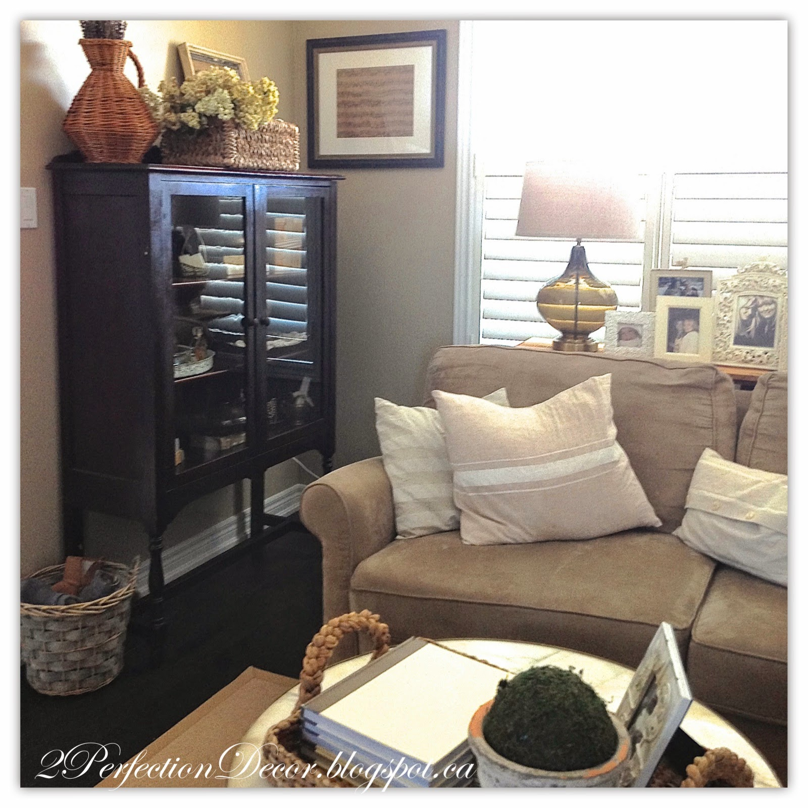 2perfection decor changes to our living room for M s living room accessories
