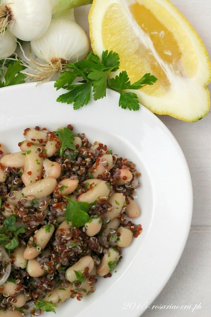 parsley, lemon and cannellini bean salad di ottolenghi per lo starbook di febbraio