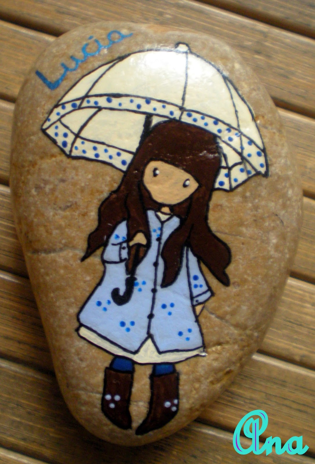 Un rinkon de mi mundo gorjuss pintadas en piedras for Piedras pintadas para jardin