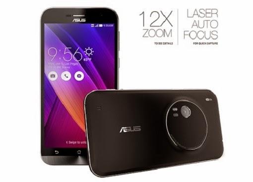 harga Asus Zenfone Zoom RAM 4GB terbaru 2015