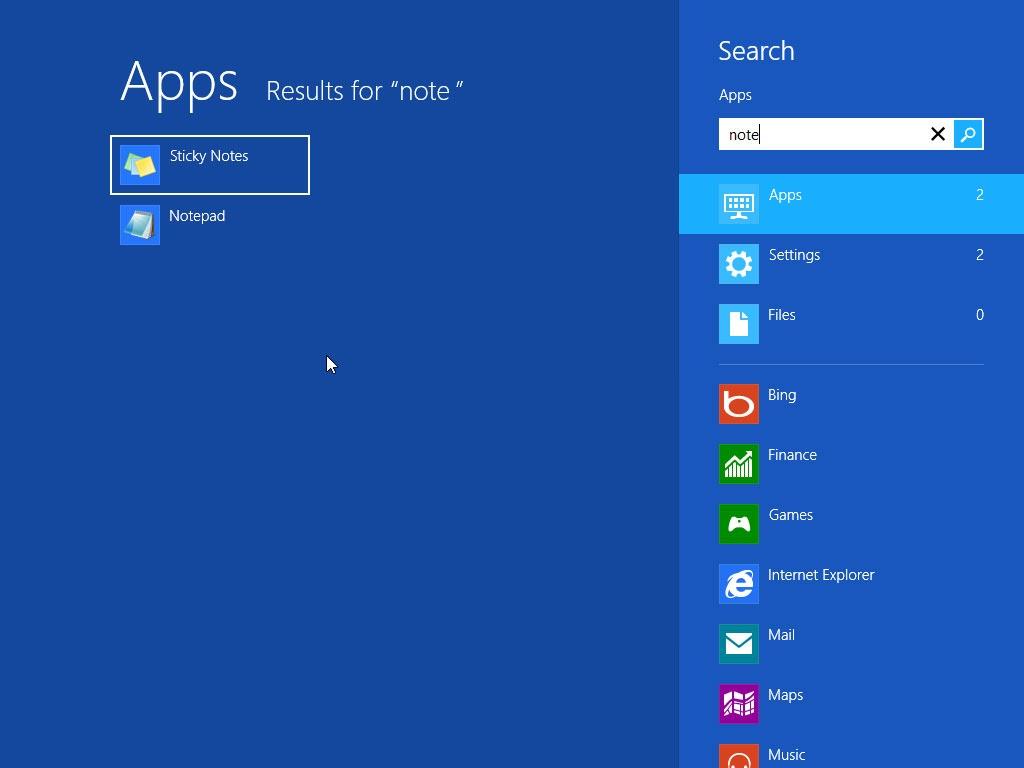 windows 8 arama yapma