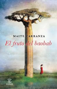 Portada de El fruto del baobab, de Maite Carranza