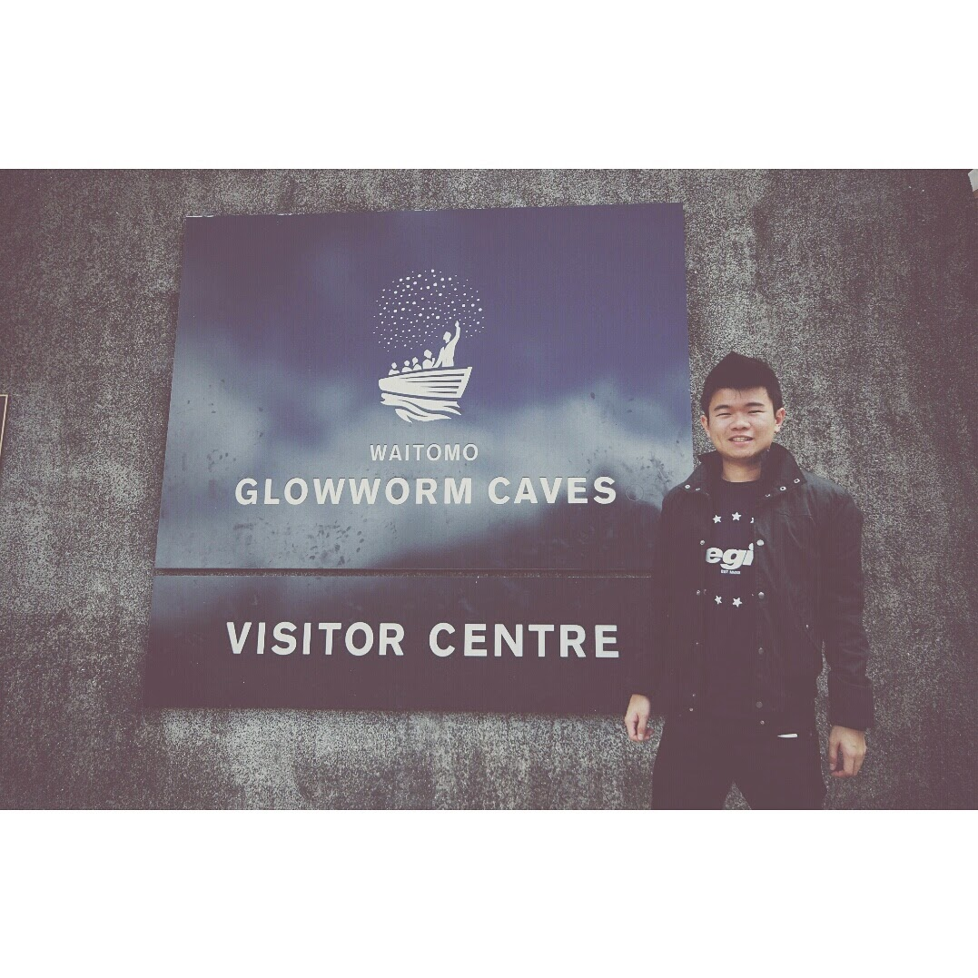 VISITED WAITOMO GLOWWORM CAVES. SUPER AWESOME