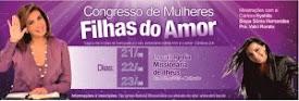 Congresso de Mulheres Filhas do Amor em Ilhéus-BA.