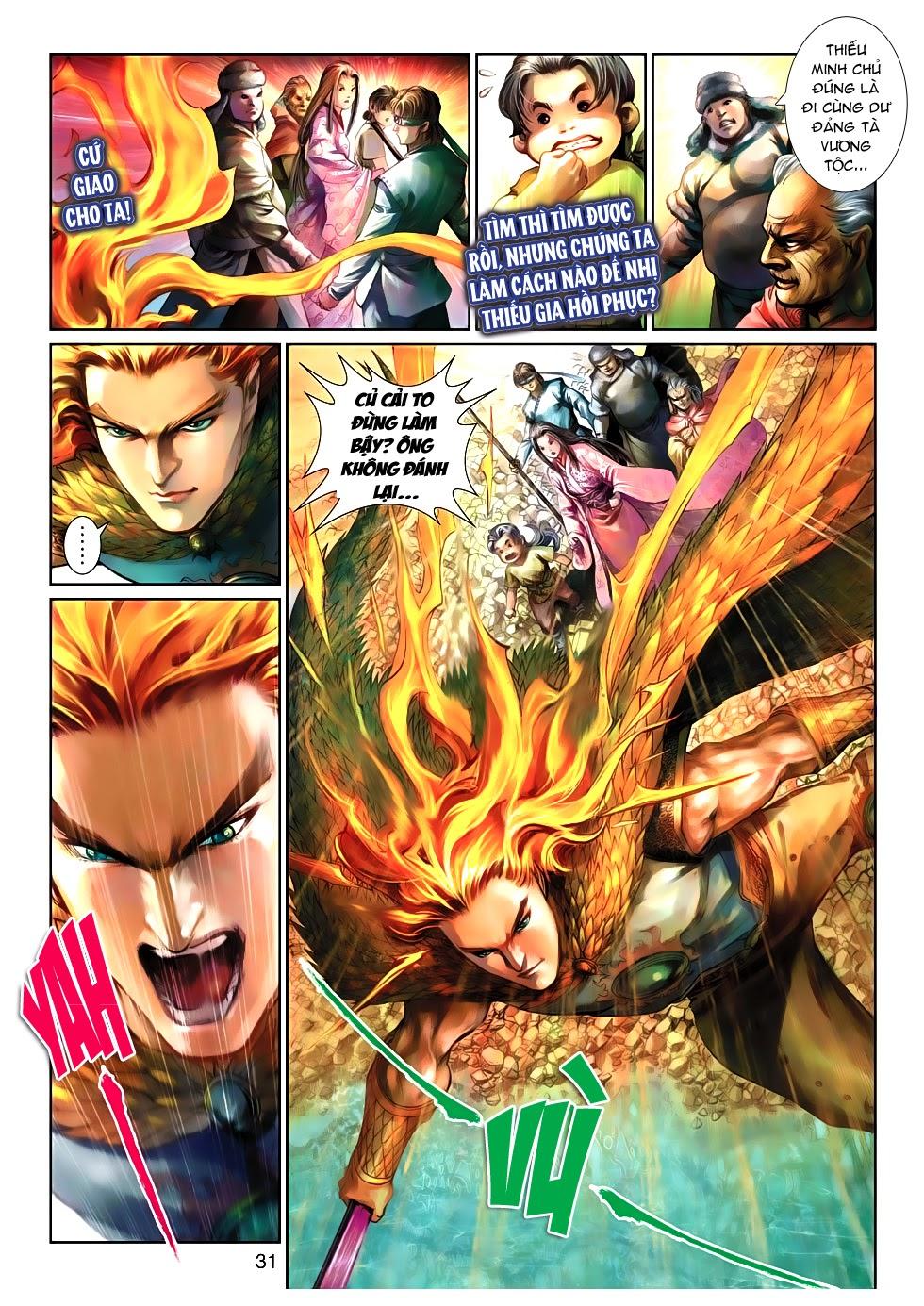 Thần Binh Tiền Truyện 4 - Huyền Thiên Tà Đế chap 10 - Trang 31
