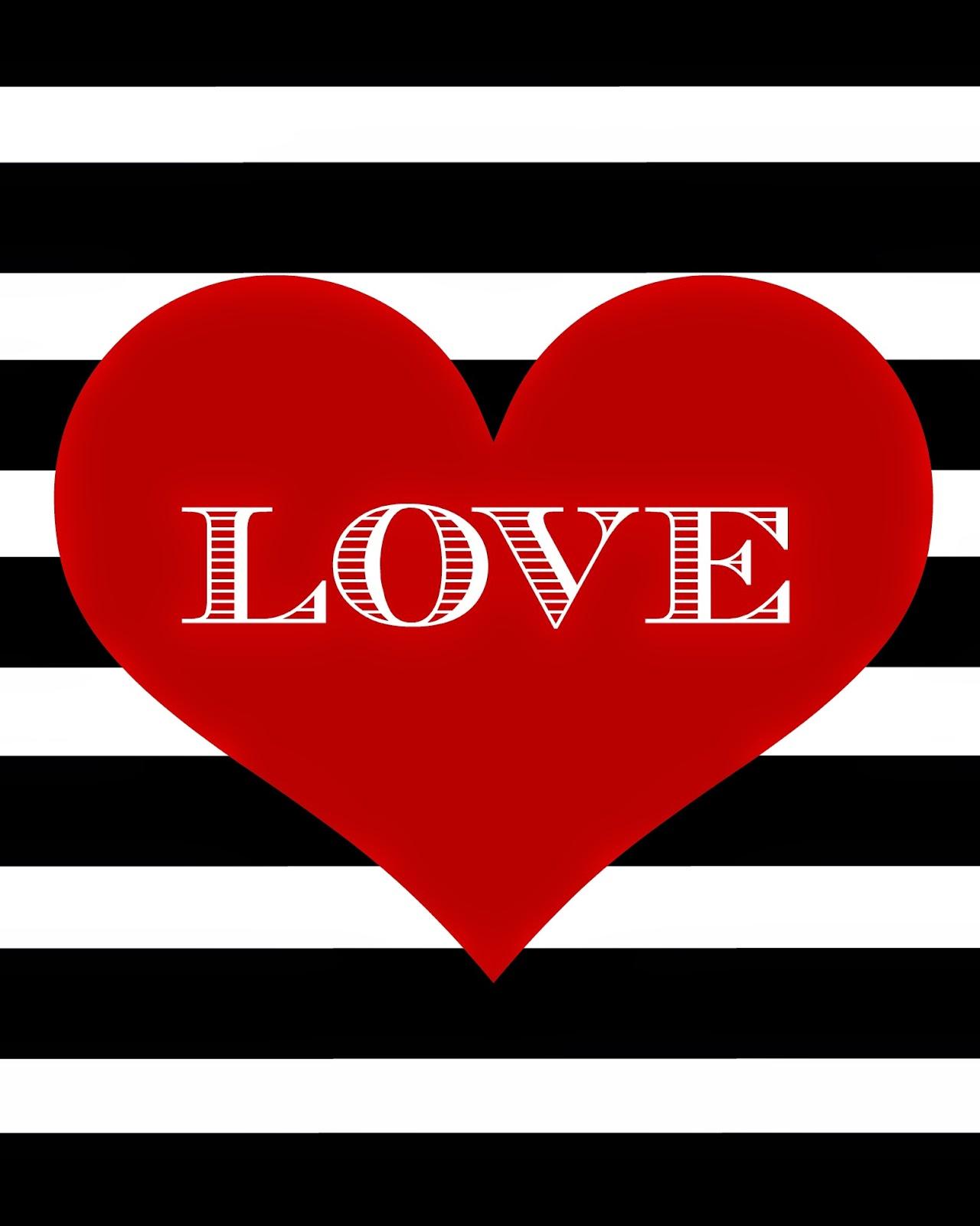 Légend image in printable valentine heart