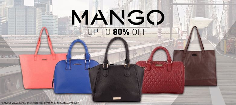 ... a reliable and sturdy bag to carry their daily essentials. So here's  the good news, ladies. Stylish Mango bags are on sale at Ensogo, up to 80%  off!