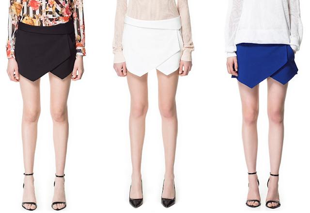Zara jupe short