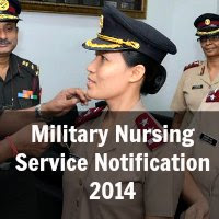 Military Nursing Service MNS Notification 2014