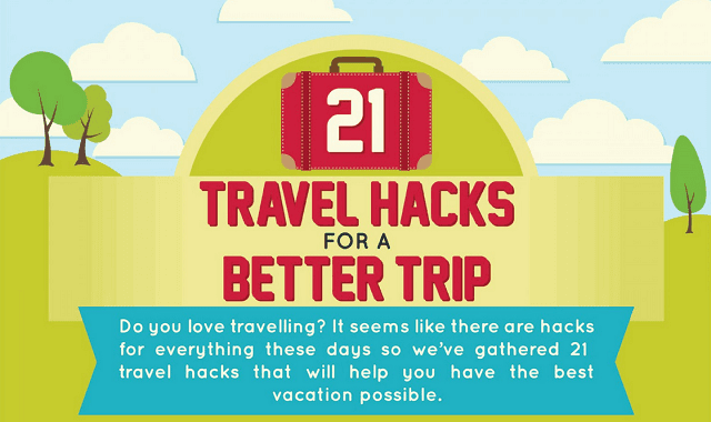 21 Travel Hacks for a Better Trip