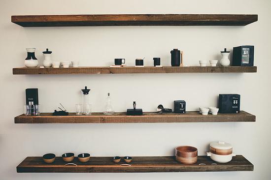 bunnings wooden shelf 1
