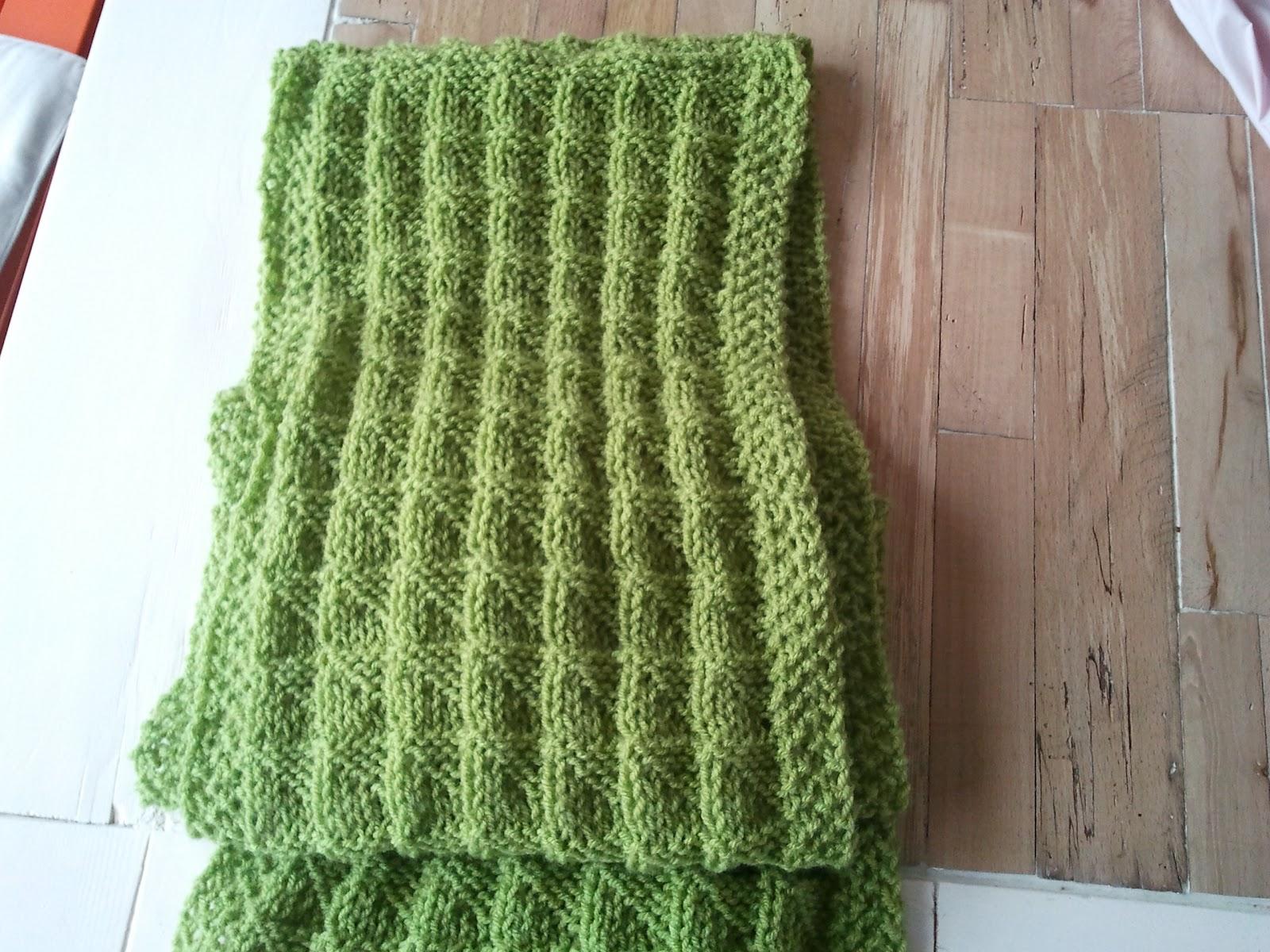 haak patroon sjaal