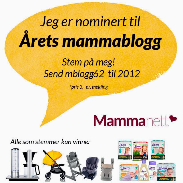 Årets mammablogger?