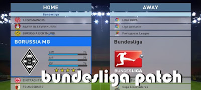 Patch PES 2016 Khusus Bundesliga