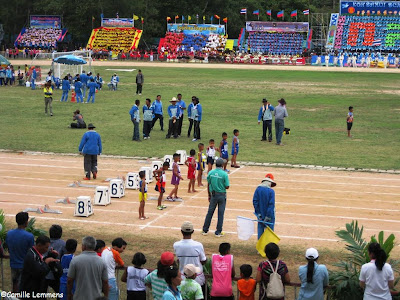 Kila Amphur athletic events July 2013