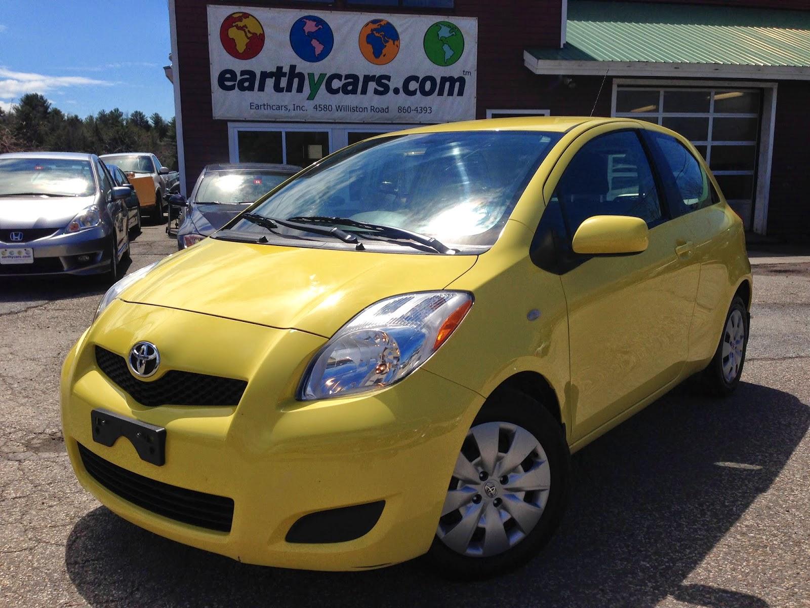 2009 Toyota Yaris 3 Door Liftback, Yellow, 81267 Mi, $8,995  Http://bit.ly/1oottPJ Subcompact, 5 Spd Manual, MPG U003d 29/36