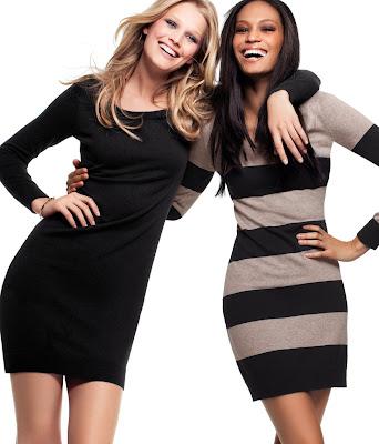 >Toni Garrn & Joan Smalls pour H&M