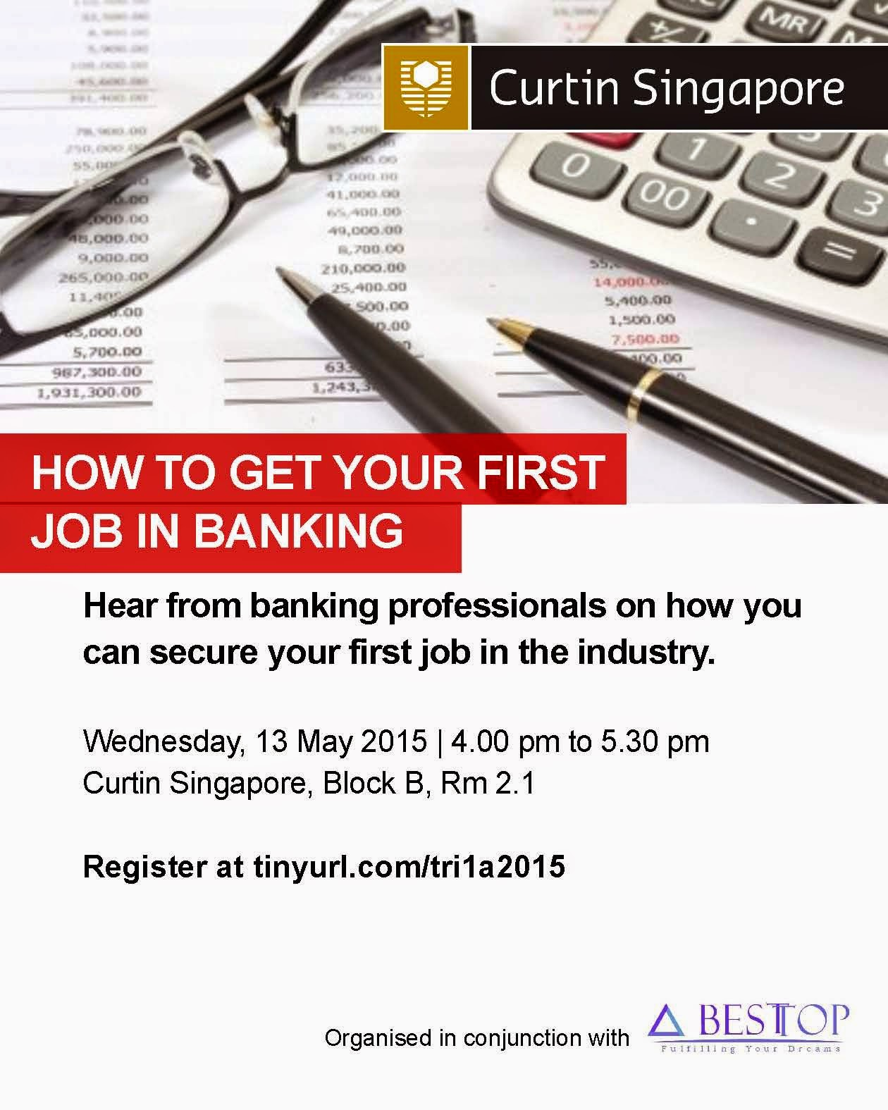 besttop career consulting job posting blog besttop x curtin besttop x curtin university career talk65306how to get your first job in banking